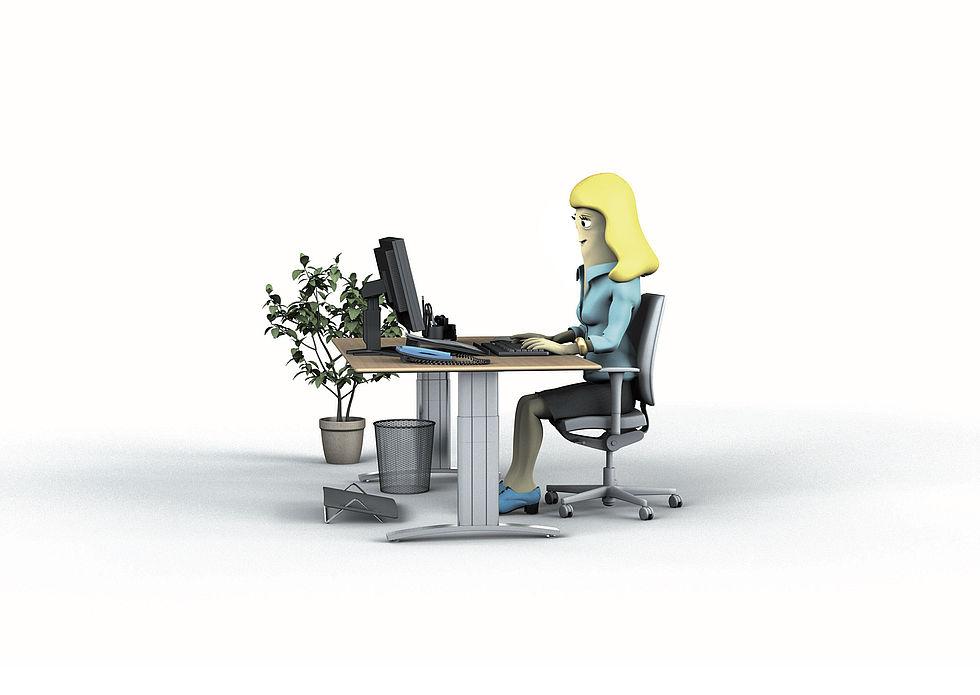 Ergonomische Büromöbel – Darauf sollten Sie achten | Prävention im Büro